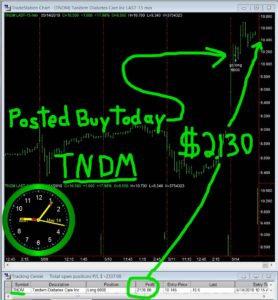 TNDM-278x300 Monday May 14, 2018, Today Stock Market