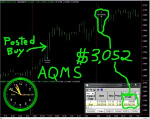 AQMS-1-300x239 Monday February 25, 2019, Today Stock Market