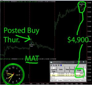 MAT-1-300x275 Monday July 29, 2019, Today Stock Market