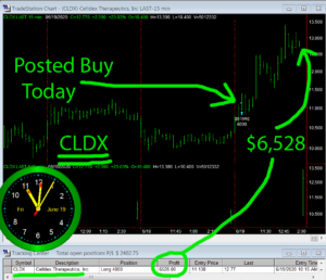 CLDX-1-300x258 Friday June 19, 2020, Today Stock Market