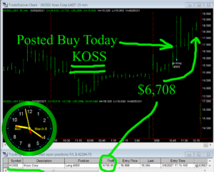 KOSS-300x242 Monday March 8, 2021, Today Stock Market